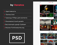 Hanatos: Elite PSD template