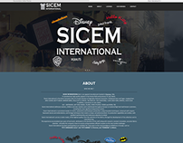 Sicem International Website Proposal