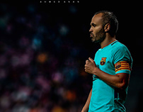 Andres Iniesta l Edit And Retouch