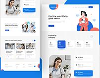 Doctor Consultation Website Design