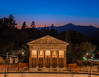 San Simeon, Hearst Castle at Night