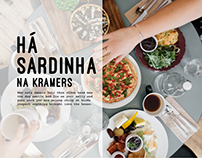 Kramers Pizza - Responsive website
