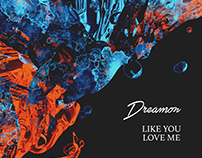 LIKE YOU LOVE ME | COVER DESIGN