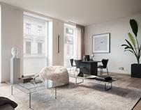 Scandinavian-style interior