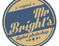 MR BRIGHTS RETRO LOGO