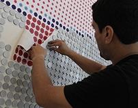 Mural  de 6118 piezas RESTAURANTE VIVALDINO LARCOMAR