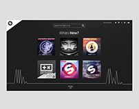 Spinnin Records Website Redesign