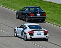 Audi R8 June 2016 Mid-Ohio PCA Track Day