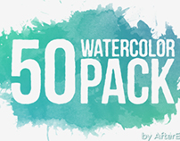 50 WATERCOLOR PACK