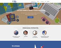Bani pe bune - Website Concept