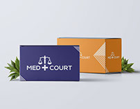 Med Court Creative Logo Design