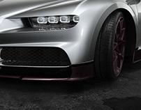 Bugatti Chiron CGI Keyshot