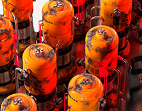 gas bomb project  [maya, substance, renderman]