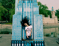 Ren Hang Fashion Shoot in Beijing International Park