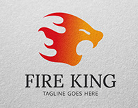 Fire King Logo template for Sale