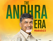 The Andhra Era Pitch Creative Posters