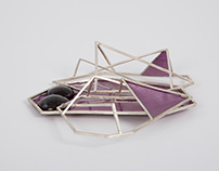 Wire Construction Brooch