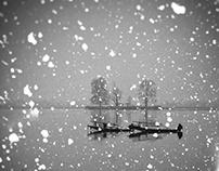 Winter Day in Kashmir
