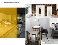 PL / Interior Designer Website Created in Bowwe