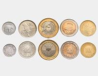 Nueva Familia de Monedas 2012 COL - Imágenes oficiales