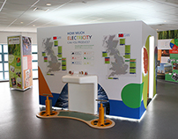 EDF West Burton - Visitor Centre Graphics