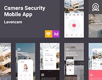 Lavencam - Camera Seturity Mobile App UI Kit