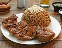 Fotos para publicidad y menú de Leña y Carbón