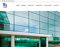 Website Development: V1 Vidros