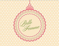Belle Femme Hair & Beauty Sign Design