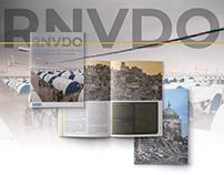 RNVDO - Iraqi NGO bootleg print design