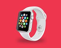 30+ Innovative Apple Watch Mockup Templates PSD