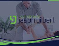 Cartão de Visita & Folheto | Quiropraxia JG
