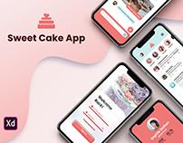 Sweet Cake App UX/UI Design