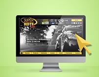 Rediseño sitio web - SUPERKOTE 2000
