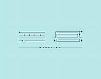 歌名字體設計 20p Typeface / logotype