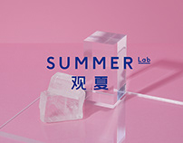 SUMMER LAB VISUAL IDENTITY & AROMA PACKAGING