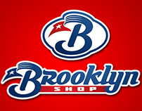 """Brooklyn Shop"" logo"