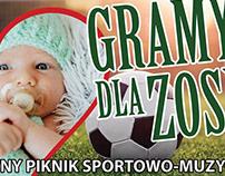 Plakat - Event Charytatywny dla Zosi