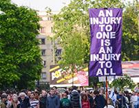 Čiji grad? protest protiv bahatih nasilnika na vlasti