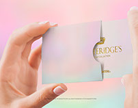 Female Hand with Business Card in a Cardholder Mockup