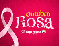 Campanha Outubro Rosa Rede Massa - SBT - Endomarketing