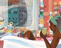 Teacups in Prague