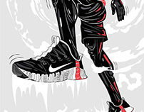Nike / App Illustrations