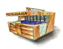 TEAVANA Kiosk