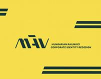 MÁV // redesign