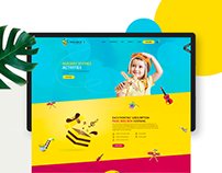 MUSIC BEE BOX | WEBSITE DESIGN | 2016