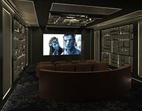 Small Interior Cinema