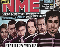 The Umbrella Academy - NME cover art