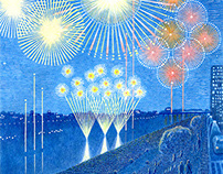 Futakotamagawa fireworks