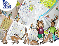 GoGoHares Trail Map Illustrations